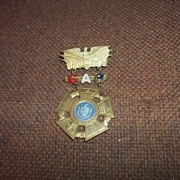 G.A.R.MEDAL - Military and Wartime