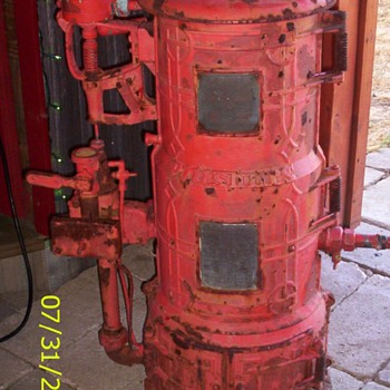 Antique Hot Water Heater - Pretty Kool, I think! - Tools and Hardware