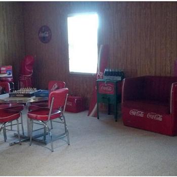 Coca cola man cave