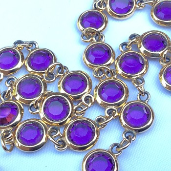 Amethyst necklace - Fine Jewelry