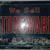 We sell stoneware in all sizes.
