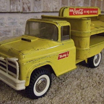 My First Coca-Cola Truck - Buddy L Coca-Cola Truck 1950's- 60's