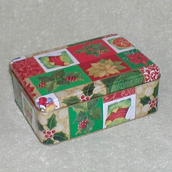 Christmas Cookie Tin - Christmas
