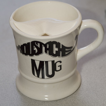 Moustache mug possibly?