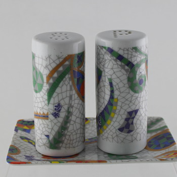 Antoni Gaudi S&P and ashtray