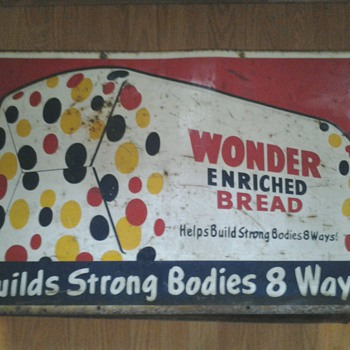 Wonder Bread Sign - Signs