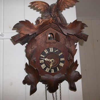 What year is this cuckoo clock? - Clocks