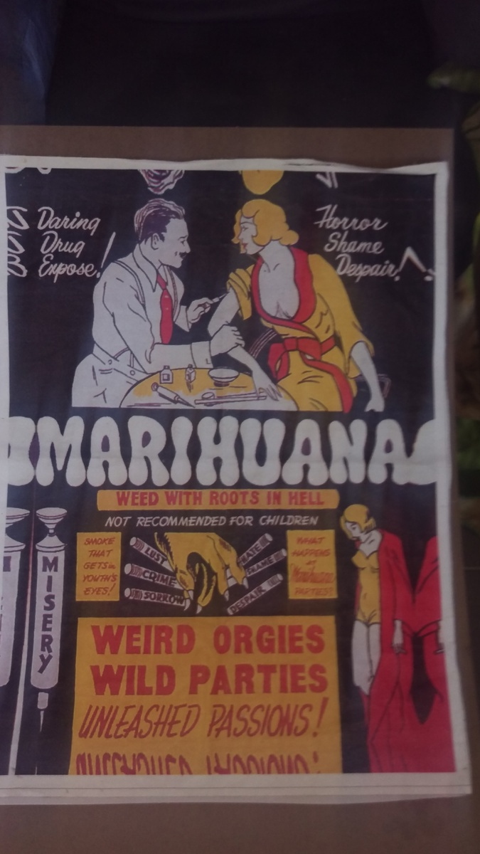 1930s quotmarihuannaquot movie poster collectors weekly