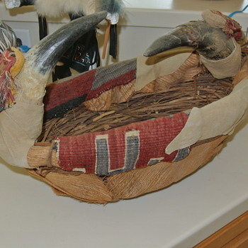 I'm trying to find information on this basket.. Tribe, anything..