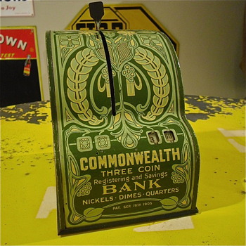 Common Wealth Bank  - Coin Operated