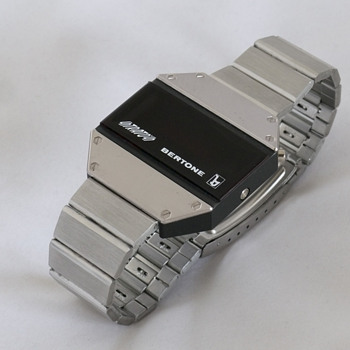 Bertone Strato's Led watch - Steel version