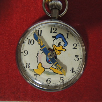 DONALD DUCK POCKET WATCH - Pocket Watches