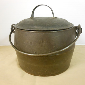 Early Cast Iron Pot - Kitchen
