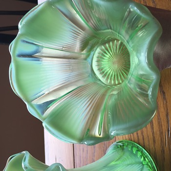 my great grandmother's vases - Art Glass