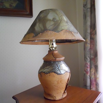 Lovely unique table lamp