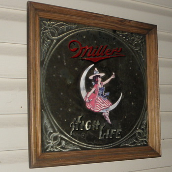 old mirror bar signs