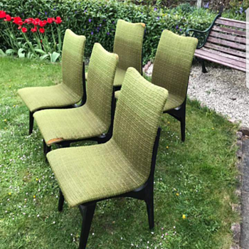 Mid century chairs possibly