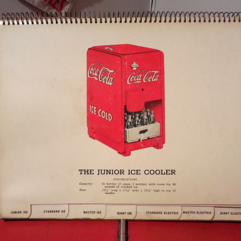 "1940 Coca-Cola ""Cooler-Graph"" Salesman Brochure - Coca-Cola"