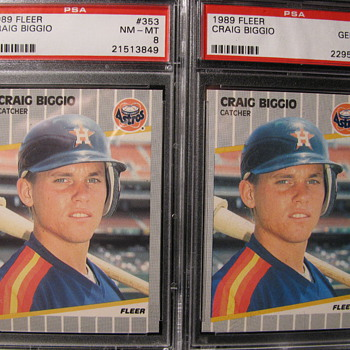 Craig Biggio cards - Cards