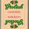 "1980's - ""Grolsch Lager"" Playing Cards"