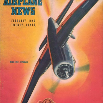 1946 - Model Airplane News magazine - February