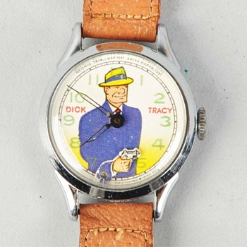 1951 Dick Tracy Style 1 Wristwatch
