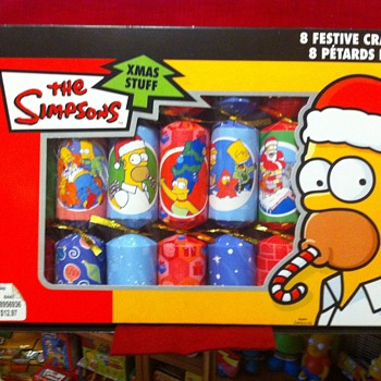 The Simpsons Xmas favours