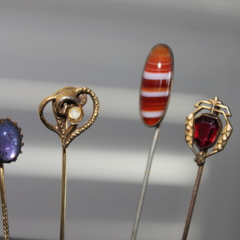 Stick Pin Obsession - Costume Jewelry
