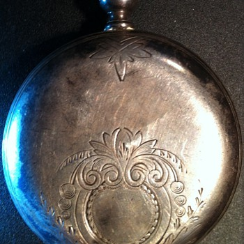 1860 rare Sterling Silver Waltham pocket watch.  Broken.  Fixable?  Worth it?