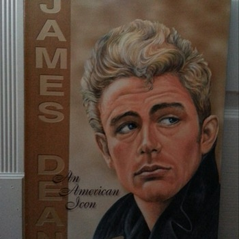 JAMES DEAN AN AMERICAN ICON TIN SIGN - Movies