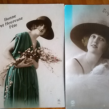 Antique Belgian Postcards