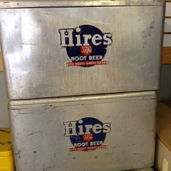 Hires Root Beer Cronstroms Cooler - Advertising