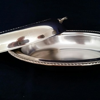 Entrée  Dish by Federal Silver Company  c. 1920-1961 - Sterling Silver