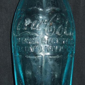 Very Rare BIM Hobbleskirt bottle.