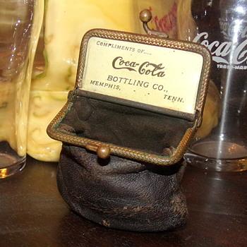1904 Coca-Cola Complimentary Coin Purse - Coca-Cola