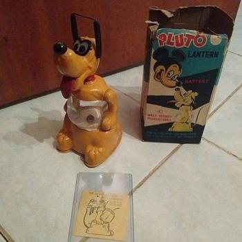 Linemar Pluto Lantern w/box