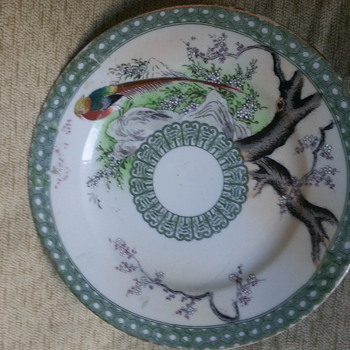 antique nippon plate??? - Asian