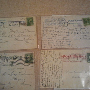 Lot 2- Early 20th century post stamps & Post cards