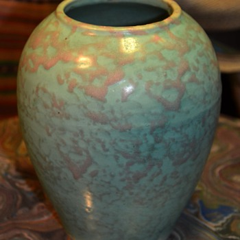 Nice Brush McCoy Vase - Pottery