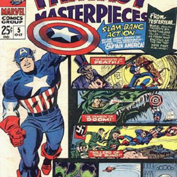 Fantasy Masterpieces,Marvel double feature. - Comic Books