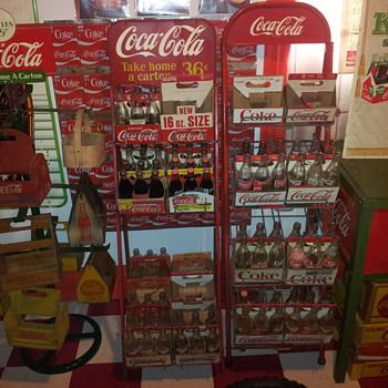 Coca-Coca Display Racks