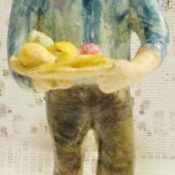 From whence this fine figurine of a man? - Figurines