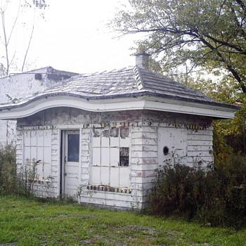 Old gas station photo's - Petroliana