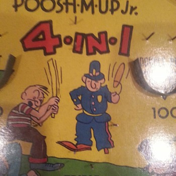 Poosh em up jr pinball game