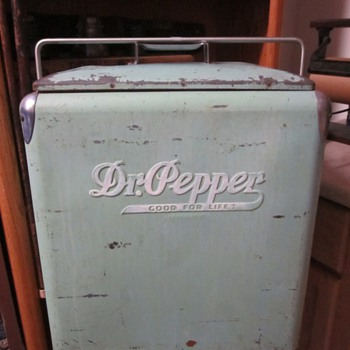 Dr. Pepper Cooler