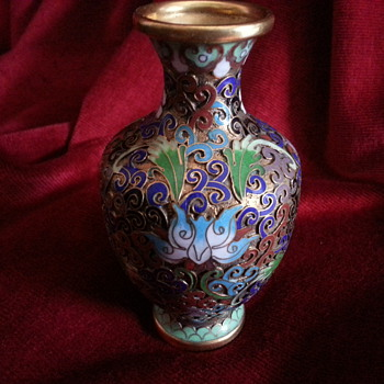 MY LATEST PIECE OF CLOISONNE