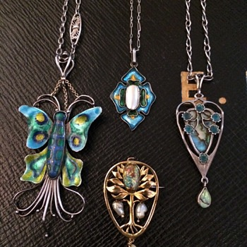 Arts & Crafts Guild of Handicrafts Pendants - Arts and Crafts