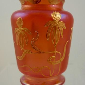 Loetz Metallrot Vase, Prod. Nr. I/7569, ca. 1898