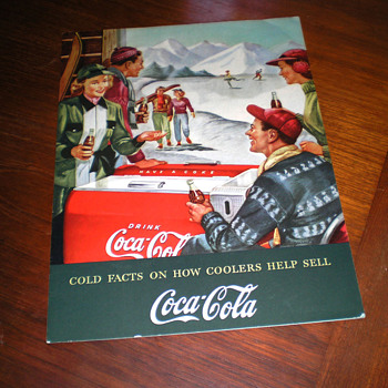 1950s Cold Facts Coca-Cola Coolers Brochure