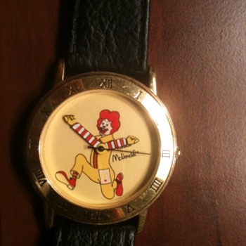 Mac Donalds wrist watch no ident. manufactory anybody know? - Wristwatches